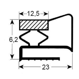 Eco-Dichtung-Profil-9105-Schraubdichtung-Kühlschrankdichtung-Kühlpult-Dichtungen-Gastrodichtungen-Kühlpult.Laden.Dichtung-Wien