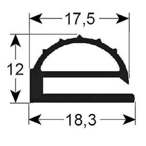 Eco-Dichtung-Profil-9305-Schraubdichtung-Kühlschrankdichtung-Kühlpult-Dichtungen-Gastrodichtungen-Kühlpult.Laden.Dichtung-Wien