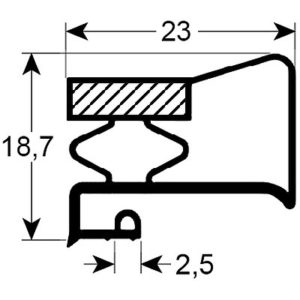 Eco-Dichtung-Profil-9205-Schraubdichtung-Kühlschrankdichtung-Kühlpult-Dichtungen-Gastrodichtungen-Kühlpult.Laden.Dichtung-Wien